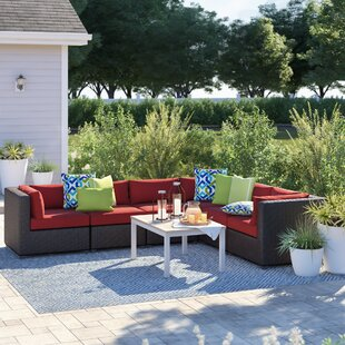 Fairfield Patio Sectional with Cushions