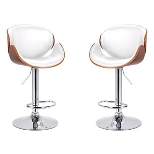 Dayana Adjustable Height Swivel Bar Stool..