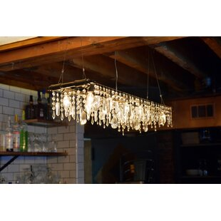 17 Stories Eulalia 12-Light Kitchen Island Pendant