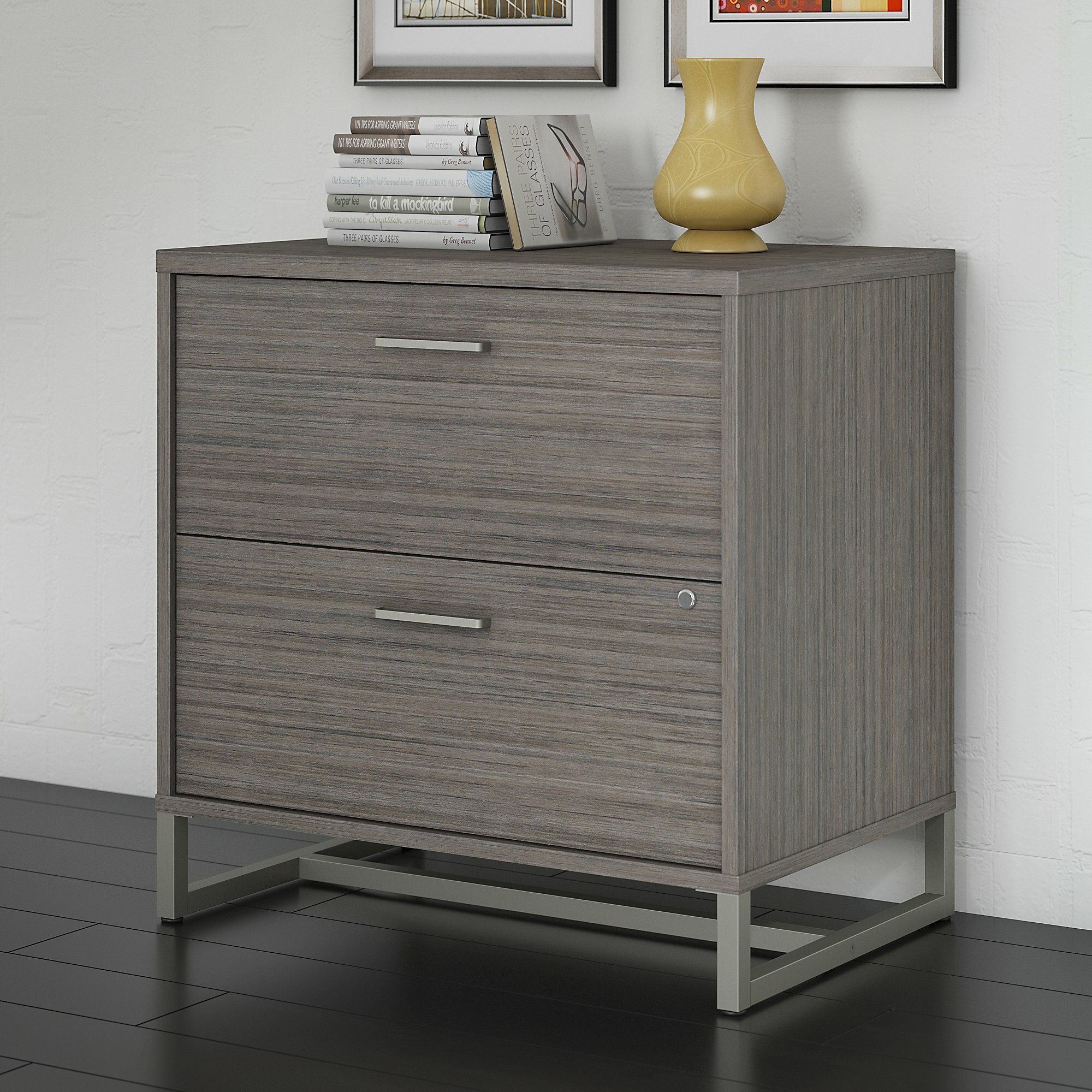 Kathy Ireland Office By Bush Method 2 Drawer Lateral Filing Cabinet Reviews Wayfair