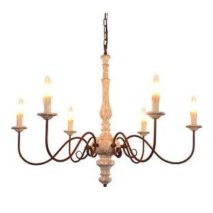 Astoria Grand Iola 6-Light Candle Style C..