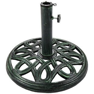 Zuma Round Cast Iron Free Standing Umbrella Base by Darby Home Co Reviews