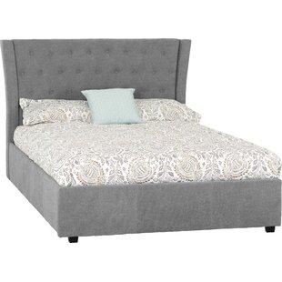 Viveros Double Upholstered Bed Frame By Ebern Designs