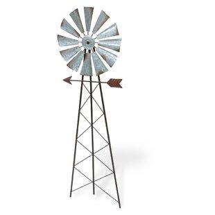 Ferrera Windmill Ground Garden Stake