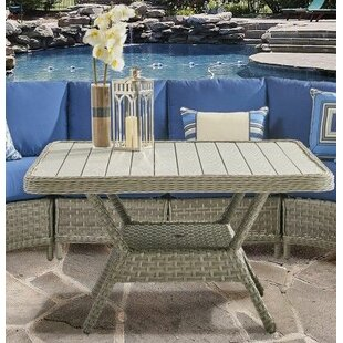 Keever Glass Chat Table by Darby Home Co