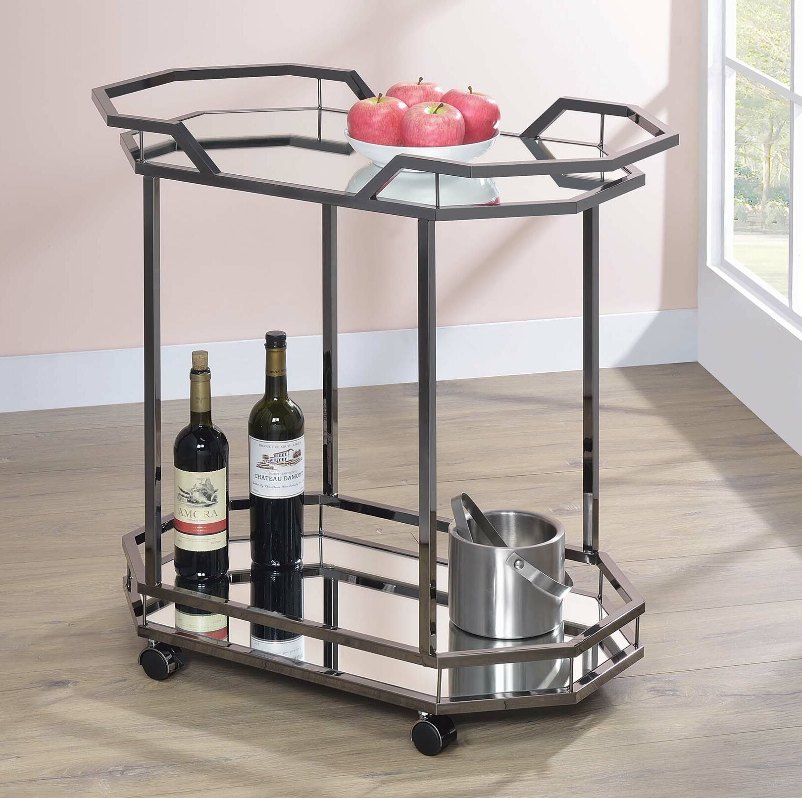 Tonquin Serving Bar Cart By Mercer41