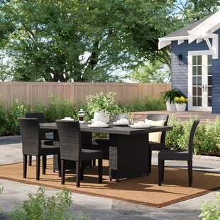 Fernando 7 Piece Outdoor Patio Dining Set