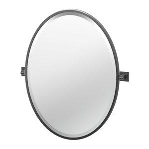 Elevate Frameless Oval Bathroom Mirror