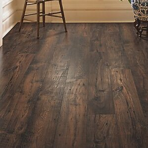 Rugged Vision 8  x 54 11 93mm Chestnut Laminate Flooring in Wide Plank You ll Love Wayfair