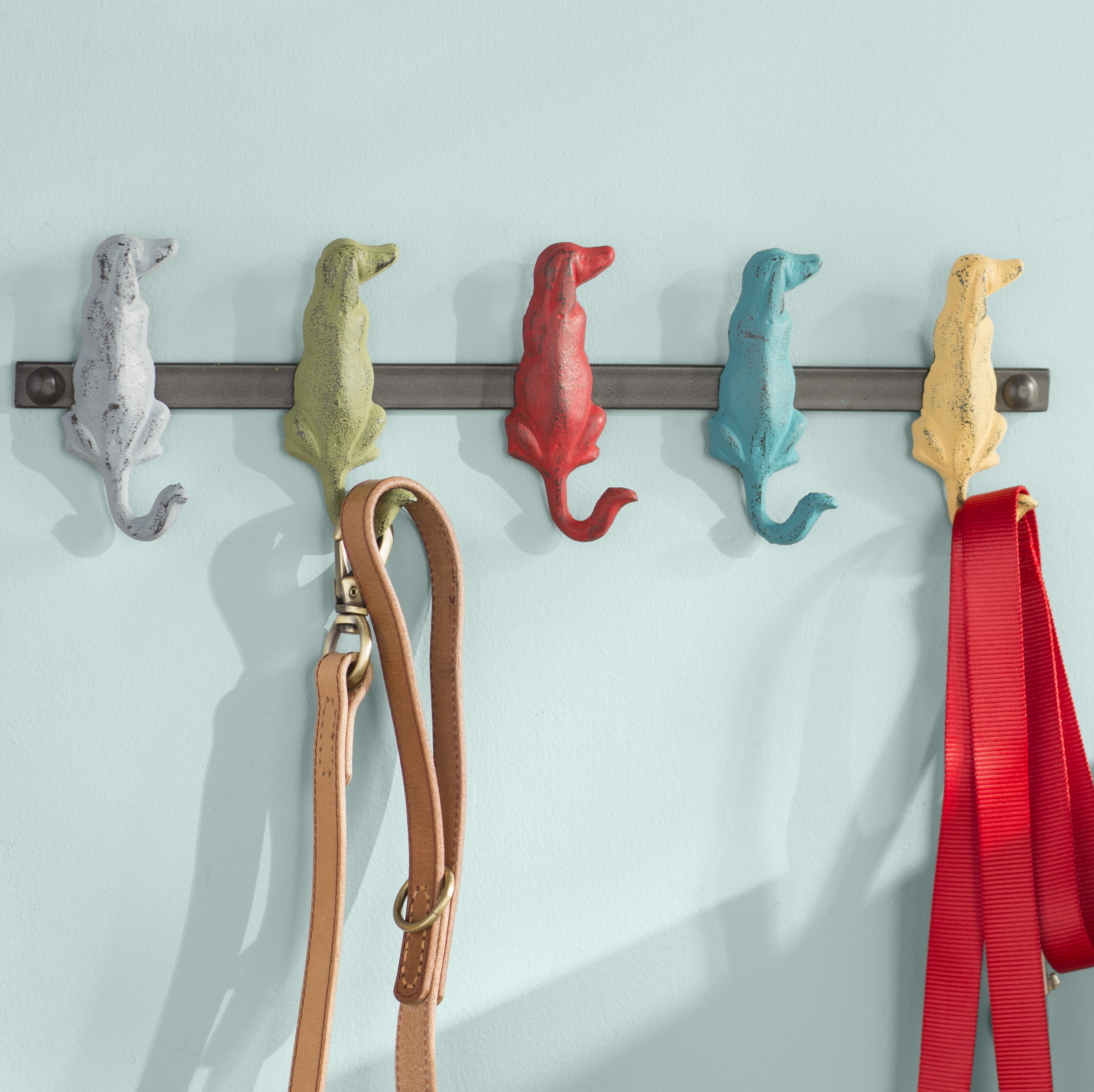 1ab376c1295 Archie   Oscar Agnes Dog Wall Mounted Coat Rack   Reviews