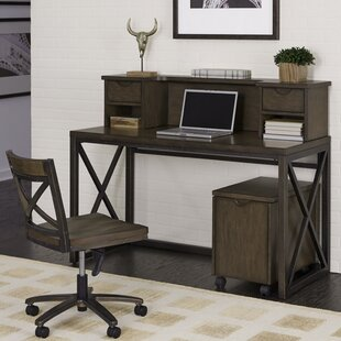 Witham 4 Piece Desk Office Suite by Williston Forge Spacial Price