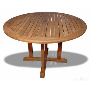 Jammie Solid Wood Dining Table by Longshore Tides