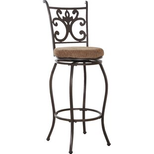 Red Barrel Studio Burbank Swivel Bar Stool