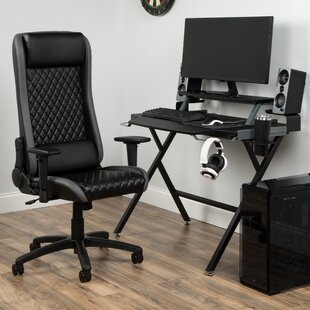 Rectangular Gaming Desk and Chair Set