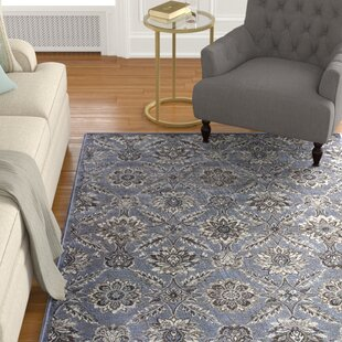 Savings Palmilla Blue/Black/Brown Area Rug By Astoria Grand
