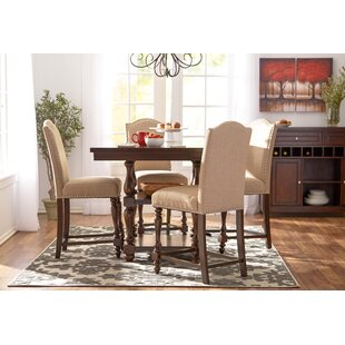 Lanesboro 5 Piece Extendable Dining Set b..