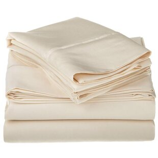 Darby Home Co Superior 1200 Thread Count 100% Cotton Sheet Set