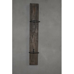 Bonified 1 Piece Wooden Wall Planter By Union Rustic