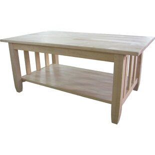 Reviews Lynn Mission Coffee Table By Mistana
