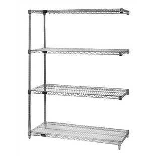 Santino Small Q-Stor Chrome Wire Shelving Add-On Unit