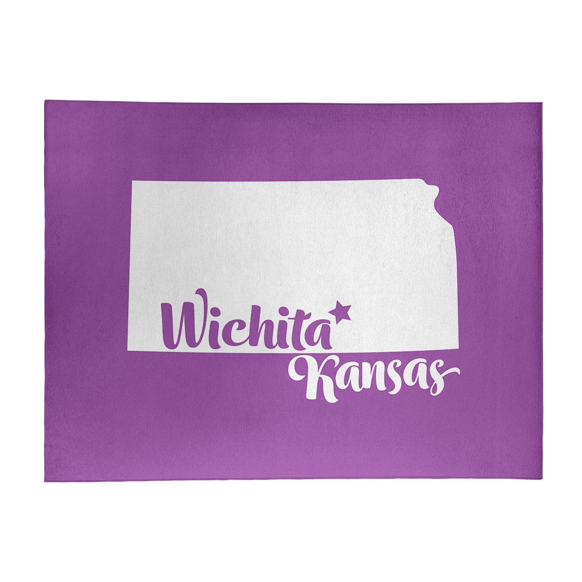 East Urban Home Wichita Kansas Poly Chenille Rug Wayfair