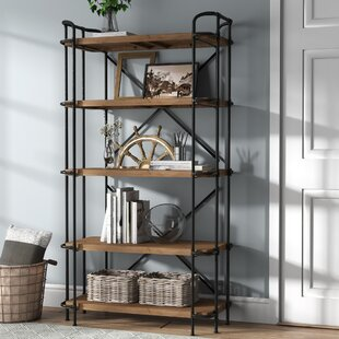 Laurel Foundry Modern Farmhouse Ebba Etagere Bookcase