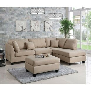 Corry Reversible Right Hand Facing Sectional with Ottoman