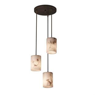 Salina 3-Light Cluster Pendant by Brayden Studio