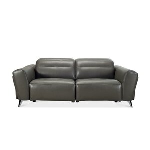 Paille Leather Reclining Sofa  sc 1 st  AllModern : contemporary reclining sofa - islam-shia.org