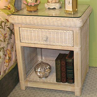 Best Price Pavilion 1 Drawer Nightstand by Wicker Warehouse