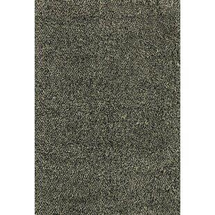 Best Mazon Tweed Black/Ivory Area Rug ByRed Barrel Studio