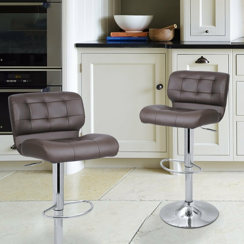 Tremendous Leather Bar Stool Bar Stools Counter Height Stools Bar Gmtry Best Dining Table And Chair Ideas Images Gmtryco