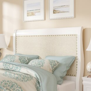 Compare Lansdale Upholstered Sleigh Headboard by Loon Peak
