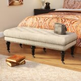 Sands Upholstered Bench by Charlton Home®