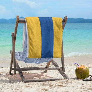 You Should Buy East Urban Home Geometry Beach Towel Cheap Price