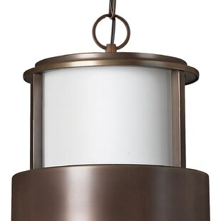 Saturn 1-Light Outdoor Hanging Lantern