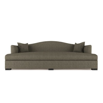 Vintage Leather Sofa Bed Canora Grey