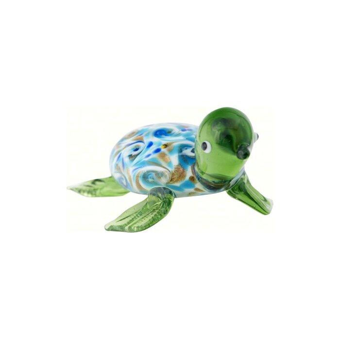 Woolery Venetian Sea Turtle Figurine