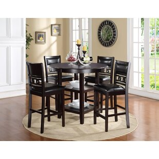 Jackins 5 Piece Pub Table Set ..