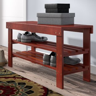 Babcock Wood Storage Bench By Winston Porter