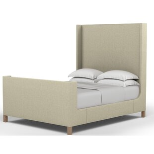 Corrigan Studio Dube Shelter Upholstered Panel Bed