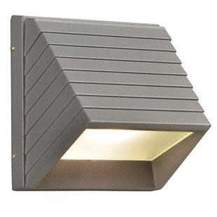 Ebern Designs Letchworth 1-Light Outdoor Flush Mount