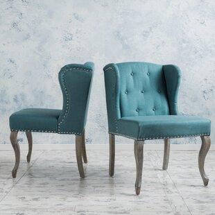 Soan Wingback Chair (Set of 2) by Lark Manor