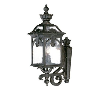 Compare & Buy Applebaum 3-Light Outdoor Sconce By Astoria Grand