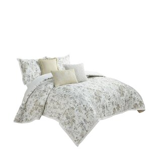 Laurel 4 Piece Reversible Comforter Set