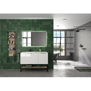 Rucker 1200mm Free-standing Double Vanity Unit By Belfry Bathroom