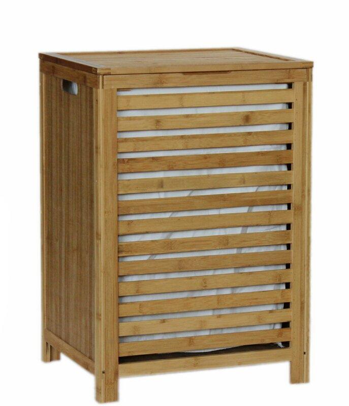 Gallerie Decor Spa Cabinet Laundry Hamper & Reviews | Wayfair