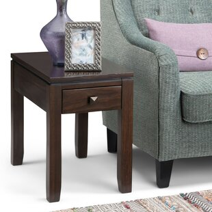Amador End Table by Alcott Hill