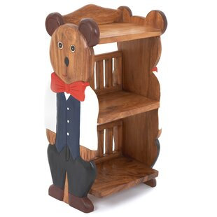 Boy Teddy Childs 78cm Bookshelf By Just Kids