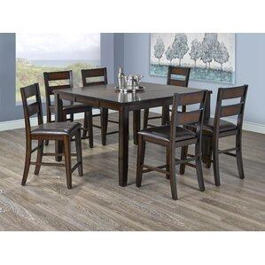 Davenport 6 Piece Pub Table Set by Brassex
